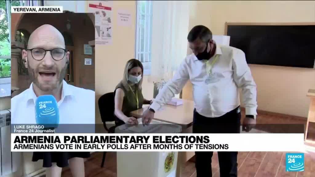 2021-06-20 18:02 Polls close in Armenia parliamentary elections