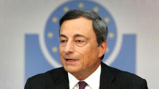 Mario Draghi, le patron de la BCE, est prêt à dépenser jusqu'à 60 milliards d'euros par mois pour relancer l'économie européenne.