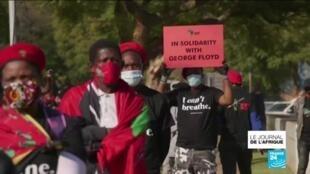 2020-06-08 21:47 Mort de George Floyd : en Afrique, des manifestations contre les violences policières