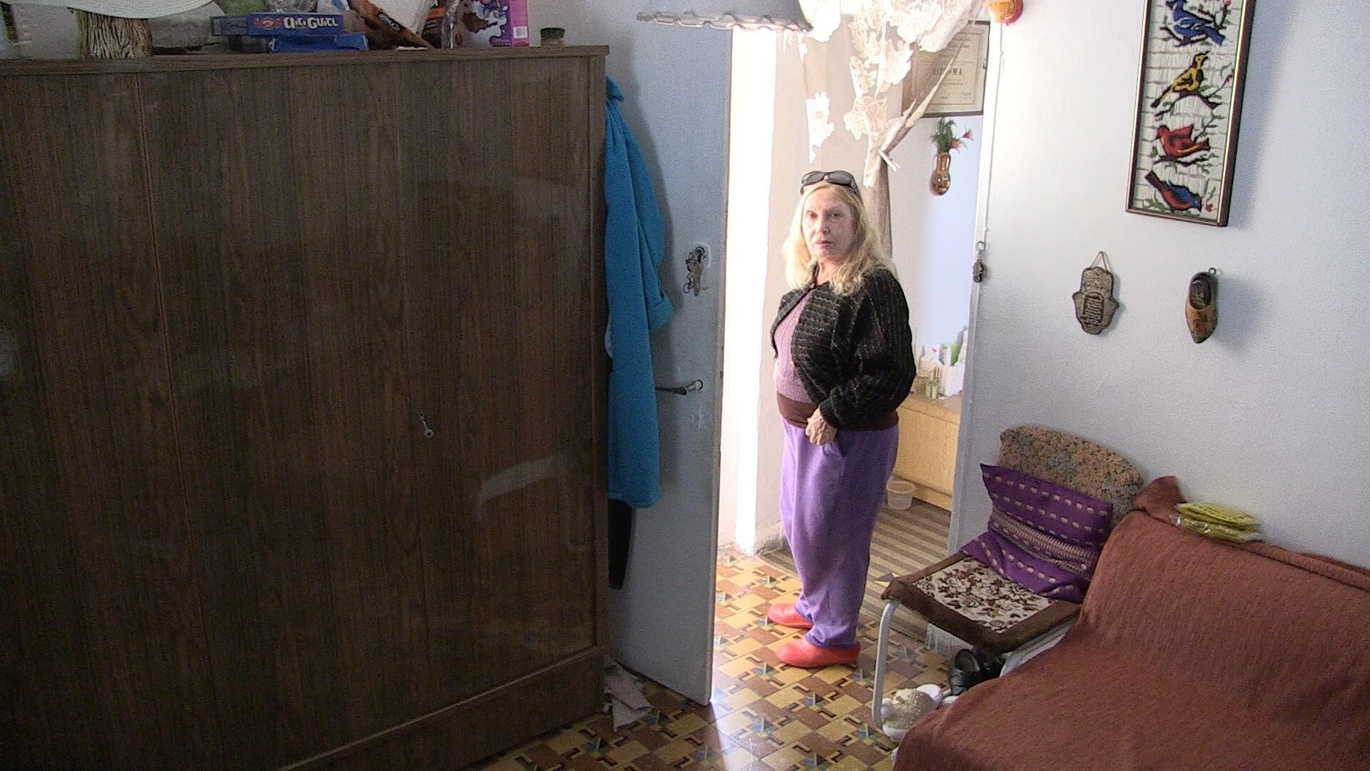 Hadasa Hershcovichi at her Tel Aviv home in January 2015