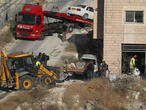 Israel demolishes Palestinian homes on Jerusalem outskirts