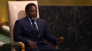 Le président de la RDC, Joseph Kabila, le 23 septembre 2017, à New York.