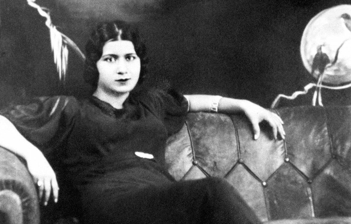 This rare file photo taken in the 1930s shows Egyptian diva Umm Kulthum