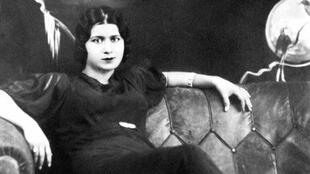 This rare file photo taken in the 1930s shows Egyptian diva Umm Kulthum