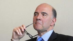 Pierre Moscovici, ministre de l'Économie.