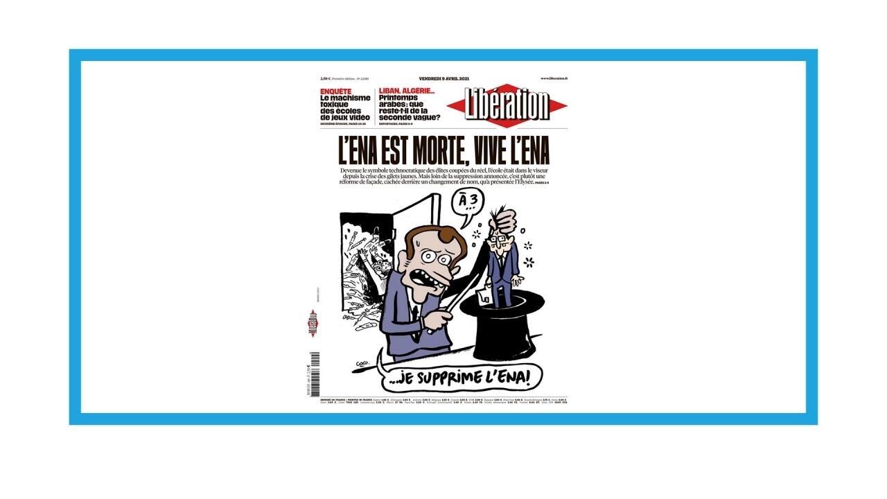 """Dans la presse - Suppression de l'École nationale d'administration : """"L'ENA est morte, vive l'ENA"""""""