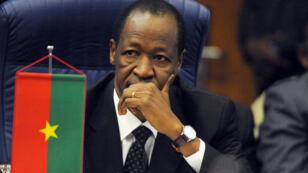 Le président burkinabè, Blaise Compaoré, au pouvoir depuis 27 ans, a démissionné le 31 octobre 2014.