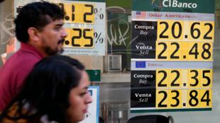 Les charges de Donald Trump contre le Mexique ont eu un certain impact sur la valeur du peso.