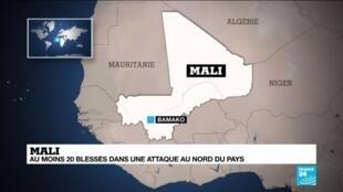 2020-01-09 11:10 MALI : Au moins 20 blessés dans une attaque au nord du pays