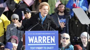 Elizabeth Warren a annoncé sa candidature à Lawrence, dans le Massachusetts.