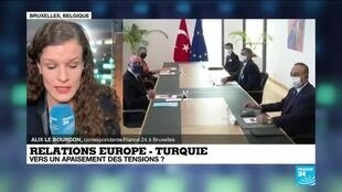2021-01-25 07:09 Relations Europe - Turquie : vers un apaisement des tensions ?