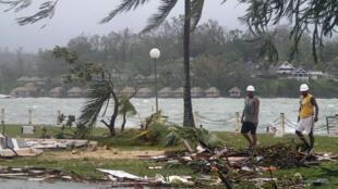 Les ONG rencontrent des difficultés à venir en aide aux habitants du Vanuatu