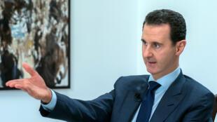 الرئيس السوري بشار الأسد.