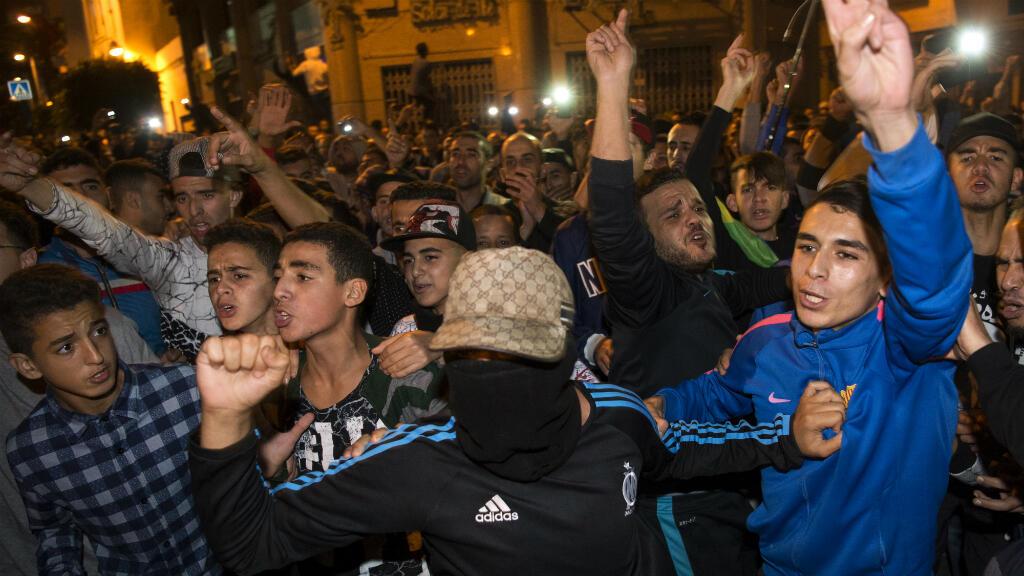 مظاهرة شهدتها مدينة الحسيمة في 31 تشرين الأول/أكتوبر 2016