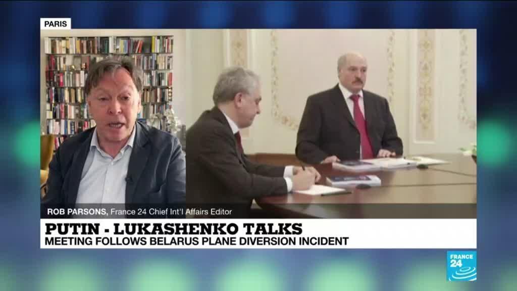 2021-05-28 11:03 Putin - Lukashenko meeting: Meeting follows Belarus plane diversion