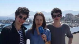 """Vincent Lacoste et Félix Moati en compétition officielle avec le court-métrage """"Après Suzanne"""" au Festival de Cannes 2016."""