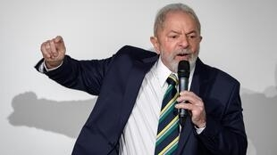 "Lula accused President Jair Bolsonaro of steering Brazil toward ""chaos"" with his calls to reopen the economy despite the coronavirus pandemic"