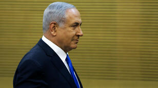 Benjamin Netanyahu à la Knesset, à Jérusalem, le 27 mai 2019.