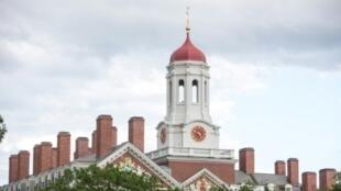 Vista de la Universidad de Harvard en Cambridge, Massachusetts, el 30 de agosto de 2018