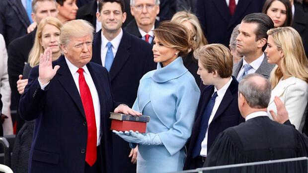 Trump toma juramento el 20 de enero de 2017