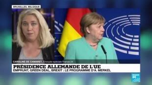 2020-07-08 15:00 L'Allemagne prend la présidence de l'Union Européenne