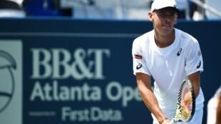 L'Australien Alex de Minaur lors du tournoi ATP d'Atlanta, le 26 juillet 2019