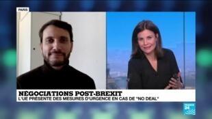 """2020-12-10 13:18 Négociations post-Brexit : l'UE présente des mesures en cas de """"no deal"""""""