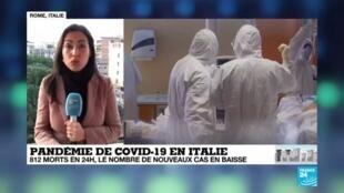 2020-03-31 08:01 Coronavirus : L'Italie n'a toujours pas atteint le pic de l'épidémie
