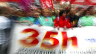 La loi sur les 35 heures est l'un des principaux marqueurs de la gauche gouvernementale