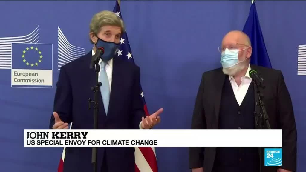 2021-03-10 09:10 This must be the 'decade of action' on climate change, John Kerry says