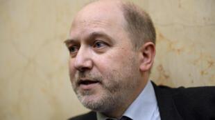 Photo d'archive datant du 4 avril 2015, quand Denis Baupin était député EELV et vice-président de l'Assemblée nationale.
