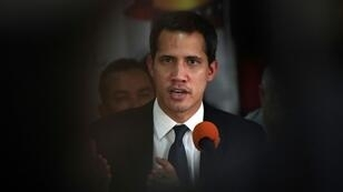 Venezuelan opposition leader Guaido declared himself acting president in January