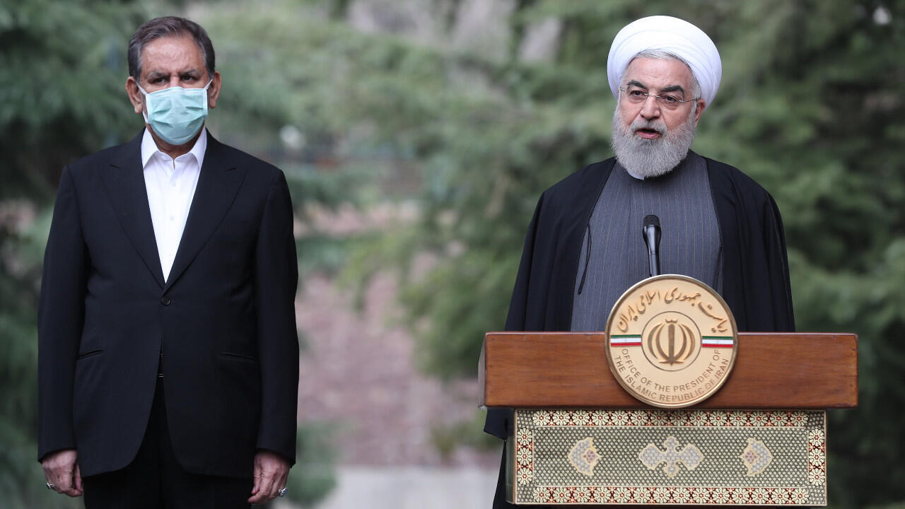Le président iranien Hassan Rohani, photographié le 18 mars à Téhéran.