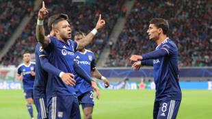 L'Olympique Lyonnais a fait une très belle opération à Leipzig, mercredi 2 octobre 2019.
