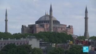 2020-07-10 14:08 Turquie : l'histoire de la basilique Sainte-Sophie