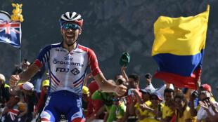 Le français Thibaut Pinot a remporté la 14e étape du Tour de France.