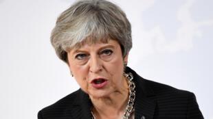 """May pidió a los líderes europeos firmar un acuerdo comercial """"audaz y ambicioso"""""""