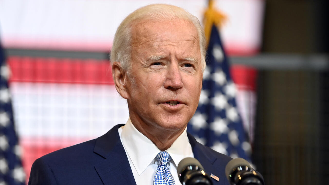 Biden accuses 'toxic' Trump of trying to sow chaos in the United States