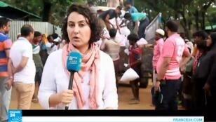 موفدة فرانس24 إلى بنغلادش مايسة عواد