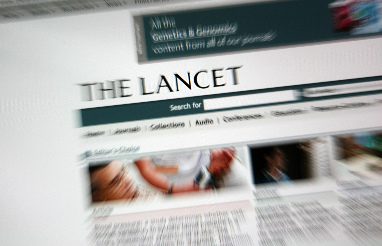 """""""Nous ne pouvons plus nous porter garants de la véracité des sources des données primaires"""", écrivent les trois auteurs au Lancet."""