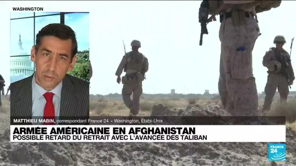"""2021-06-22 17:04 Armée américaine en Afghanistan : """"le retrait embarrasse mais il est inéluctable"""""""