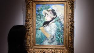 """Le tableau """"Le Printemps"""" d'Édouard Manet."""