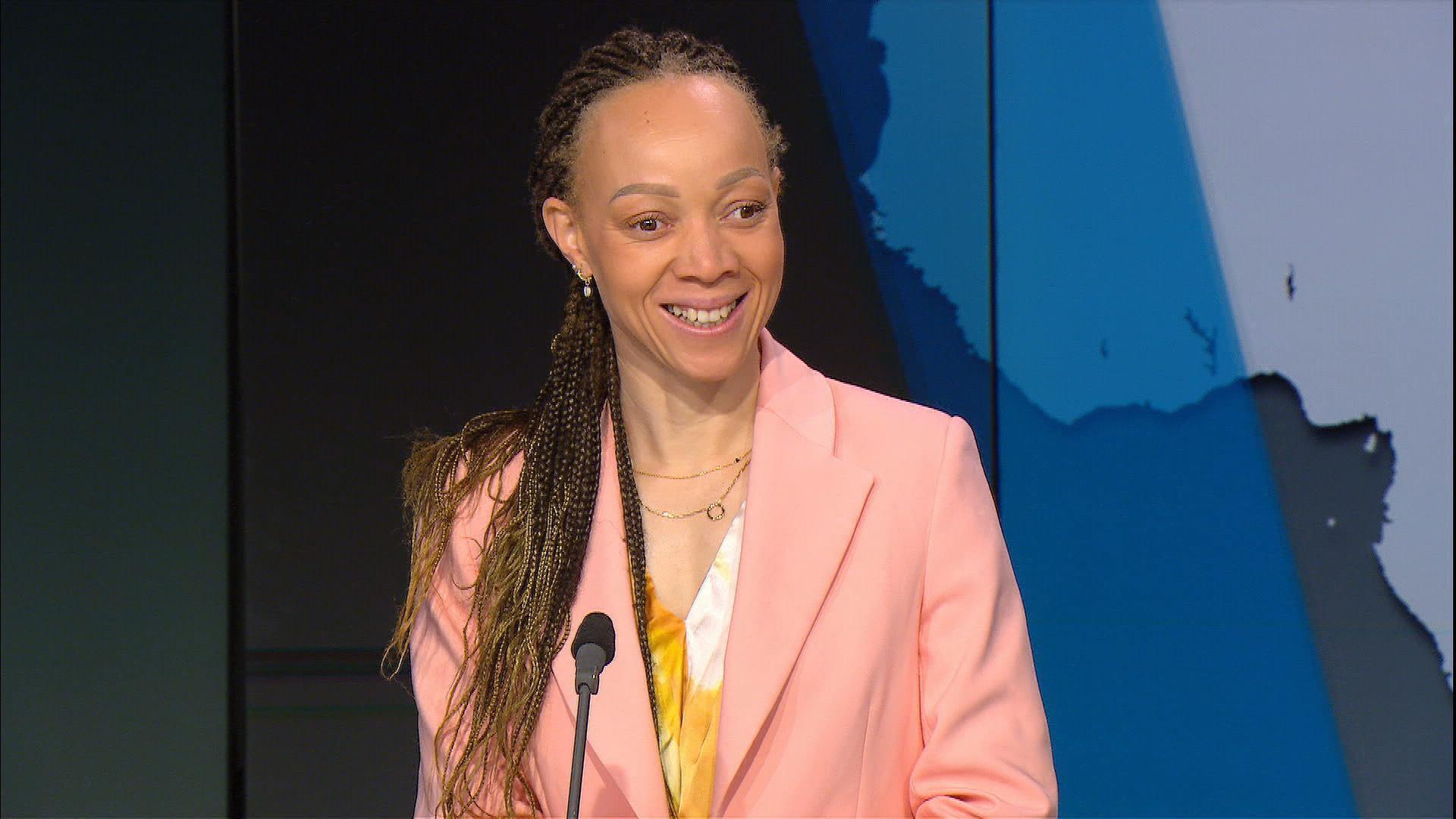 Nantenin Keita, invitée d'Afrique Hebdo
