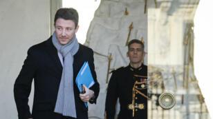 Le porte-parole du gouvernement, Benjamin Griveaux, à Paris, le 12 décembre 2018.