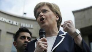 رئيسة وزراء إسكتلندا نيكولا ستيرجن