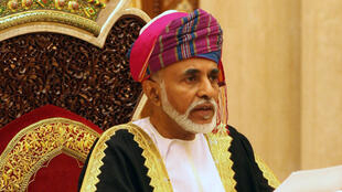 Omani Leader Sultan Qaboos bin Said addresses the annual session of the Council of Oman in Muscat on November 12, 2012.