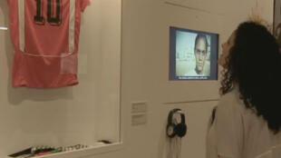 L'exposition marseillaise regroupe plus de 400 oeuvres autour du football.