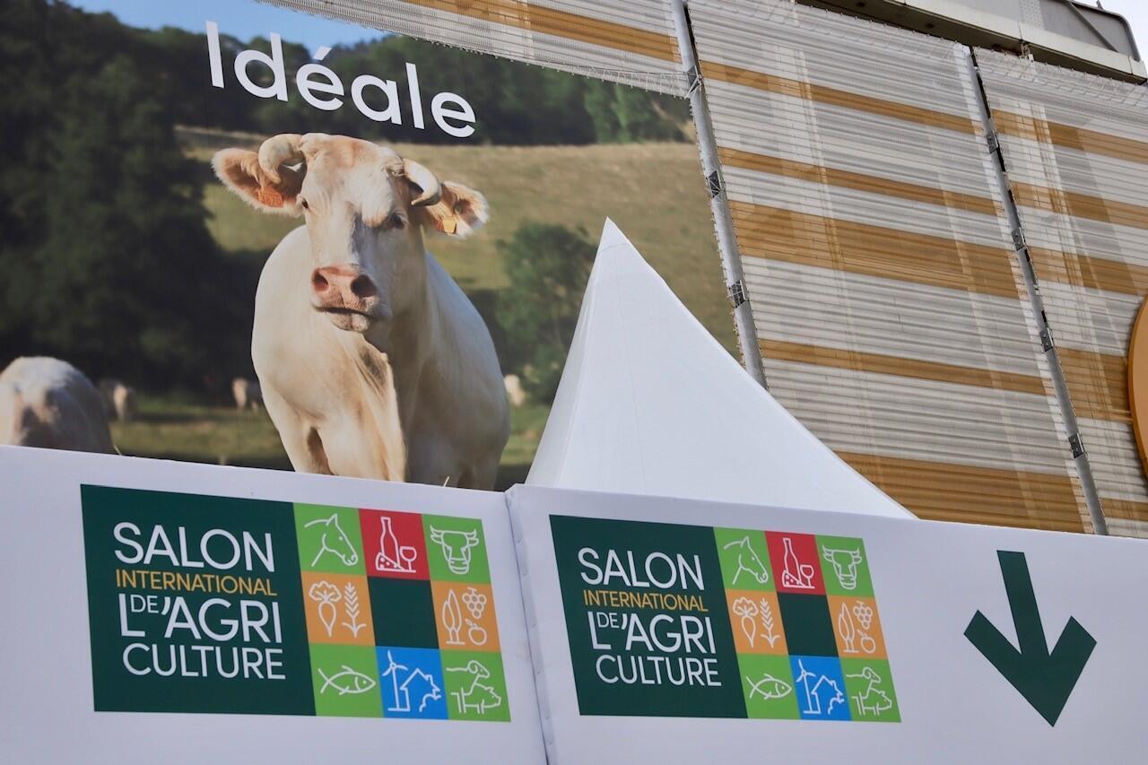 Le Salon de l'agriculture se tiendra jusqu'au 1er mars 2020 au Paris Expo Porte de Versailles.