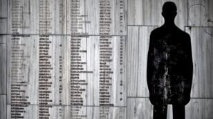 Un mémorial dédié aux victimes grecques des nazis à Distomo dans le sud du pays.