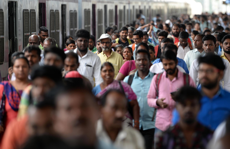 Un métro bondé à Chennai, en Inde, le 11 juillet 2018.